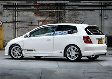 HONDA CIVIC DECALS  GRAPHICS SET STICKERS STRIPES CAR DECALS  ANY COLOUR