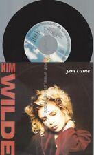 "7""  Kim Wilde – You Came"