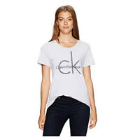 NEW Womens Calvin Klein CK Origins Tee CK Logo Short Sleeve T Shirt NEW