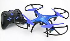 RC Quadrocopter Drohne RAYLINE Funtom 6 HD-Kamera Barometer 2xAkku 2,4GHz SDSlot