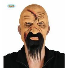 Pirate Pilleur Scarface voyou Evil Vieil Homme Demi Visage Masque Halloween Déguisement Robe