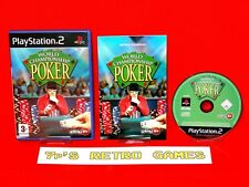 World Championship Poker (PS2) Complete ✔️ 60GB PS3 Compatible