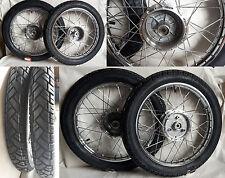 2 x Rad Reifen Räder pas f Simson S51 S50 KR51 Schwalbe S53 S70 chrom Satz S83