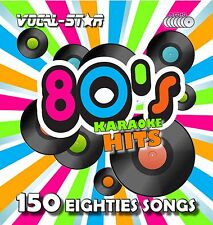 VOCAL-STAR 80'S HITS KARAOKE CDG CD G DISC SET 150 SONGS FOR KARAOKE MACHINE A