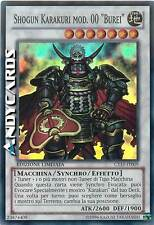 "Shogun Karakuri mod. 00 ""Burei"" ☻ Super Rara ☻ CT10 IT009 ☻ YUGIOH ANDYCARDS"