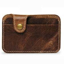 Real Leather Cardholder Passport Covers Women Men Purse Card Holder Nice New