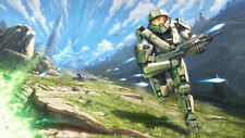 "XBOX 360 PS3 PS4 HALO MASTER CHIEF 13""X19"" POSTER PRINT GAME ROOM #7"
