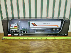 Tom Inman Kenworth K-100 Semi With Van Trailer By First Gear 1/64th Scale