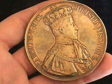 Médaille Sacre de Charles X de GATTEAUX & Daté de 1825 & Reims & Carolus X Rex