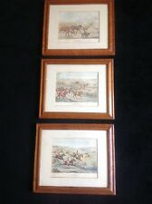 Set of 3 English Hunt Scenes by Alken