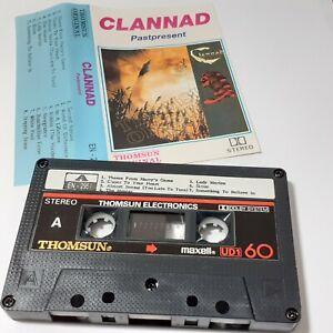 CLANNAD PASTPRESENT THOMSUN IMPORT CASSETTE TAPE ALBUM WORLD MUSIC GAELIC