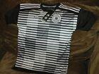 Germany Soccer Jersey Deutscher Fussball Bund Youth Small Nwt Pre Match Adidas