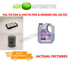 PETROL OIL AIR FILTER + FS 5W30 OIL FOR CHEVROLET LACETTI 1.8 121 BHP 2005-09