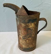 Vintage Well-Used Metal Maytag Company, Newton, Iowa, Oil Can with Pour Spout