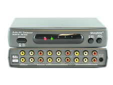 4x2 4:2 Composite RCA Video with Audio Automatic Auto Switcher Splitter SB-5420