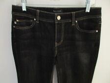 White House Black Market Blanc Jeans- Black Boot--Size 6R  NWOT #H31