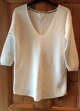 Cotton V Neck 3/4 Sleeve NEXT Jumpers & Cardigans for Women