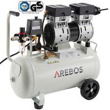 Druckluft Kompressor Luftkompressor Flüsterkompressor 800 W 24 L 54,5dB(A)