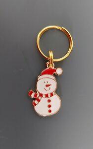 CHRISTMAS Dog Cat Collar Charm - Snowman