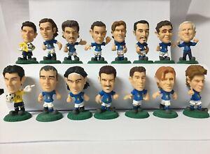 I Campioni Della Nazionale Italia Europei Mondiali 15 Bomberini Azzurri Panini