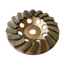 "4.5"" Concrete Grinding Cup Wheels 18 Diamond Abrasive Seg 7/8""-5/8 Arbor"