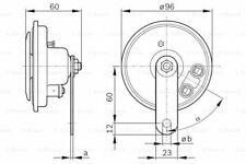 BOSCH Horn für  BMW MERCEDES-BENZ 594225