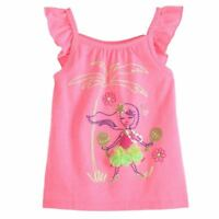 Mix Match Baby Mädchen Sommer Outfit Neon Pink T-Shirt Top + Shorts Hose 86