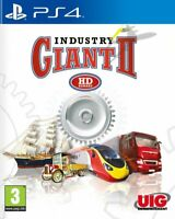 Industry Giant II 2 Playstation 4 PS4 **FREE UK POSTAGE!!** Simulator Tycoon