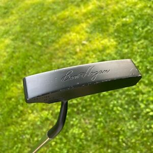 """RARE Ben Hogan Golf APEX PRECISION MILLED HB-1 PUTTER 35"""" Right Handed Painted"""