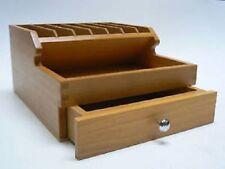 Pinza per Rack in legno con cassetti di stoccaggio le Gioiellerie Craft Organizer sezioni in legno