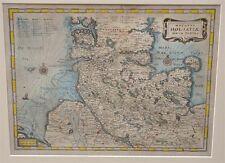 Ducatus Holsatiae Merian um 1650 Schleswig-Holstein