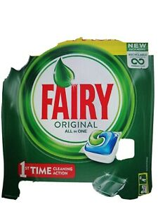 Fairy Original  All-in-One Soft Pouch Dishwasher  2 - 20 Capsules