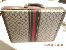 Vintage Gucci Briefcase Ca 1980, Never Used, New Condition