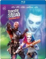 Suicide Squad (Extended Cut) [New Blu-ray] Extended Ed, Steelbook, 2 P