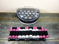 Remington Ionic Conditioning Hair Setter 20 Velvety Curlers Hot Rollers H-5600