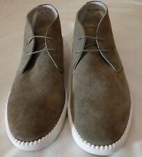 Emporio Armani Classic Chukka Boots Grey Size uk 11 Eu 45