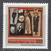 Berlin 1989 MNH Mi 857 Sc 9N583 Hannah Hoch,painter.Journalists **