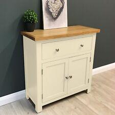 Cotswold Cream Painted Oak Sideboard /Mini /Cupboard /Solid Wood /Cabinet/ New