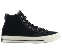 Converse Chuck Taylor All Star 70 Hi Black Suede Mens Shoes 162373C