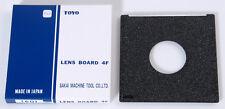 PLANCHETTE TOYO 110x110 COPAL 1 -  LENS BOARD TOYO 110x110 COPAL 1