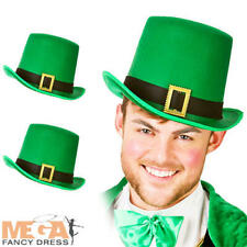Leprechaun Top Hats Adults Fancy Dress Irish St Patricks Day Costume Acc Sets