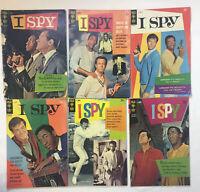 1960's tv show comics ~ I SPY #1 2 3 4 5 6 ~ FULL SET