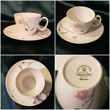 Rosenthal Cup & Saucer: Continental China: Quince Pattern by Raymond Loewy 1950s