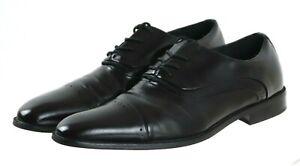 Stacy Adams Men's Cap Toe Dress Shoes Size 12 Leather Black