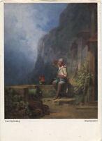 Alte Kunstpostkarte - Carl Spitzweg - Wachtposten