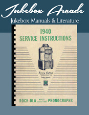 Rock-Ola Super, Master & Junior Service and Instruction Manual 1940