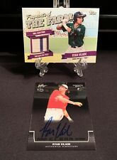 Ryan Vilade 2 Card Lot Auto/Relic 2018 Topps Relic  & 2017 Leaf Auto RC Rockies