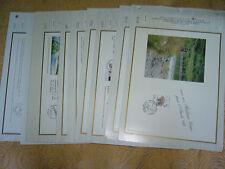 FRANCE Année complète 1992  Documents CEF    -  1er JOUR  -