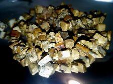 PIETRA PAESINA - DIASPRO PAESAGGIO filo CHIPS pietre dure forate Cm 50 cristallo