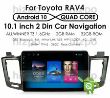 For Toyota RAV4 2013 2014 2015 2016 2017 Android 10 Car Stereo GPS Radio 1080P